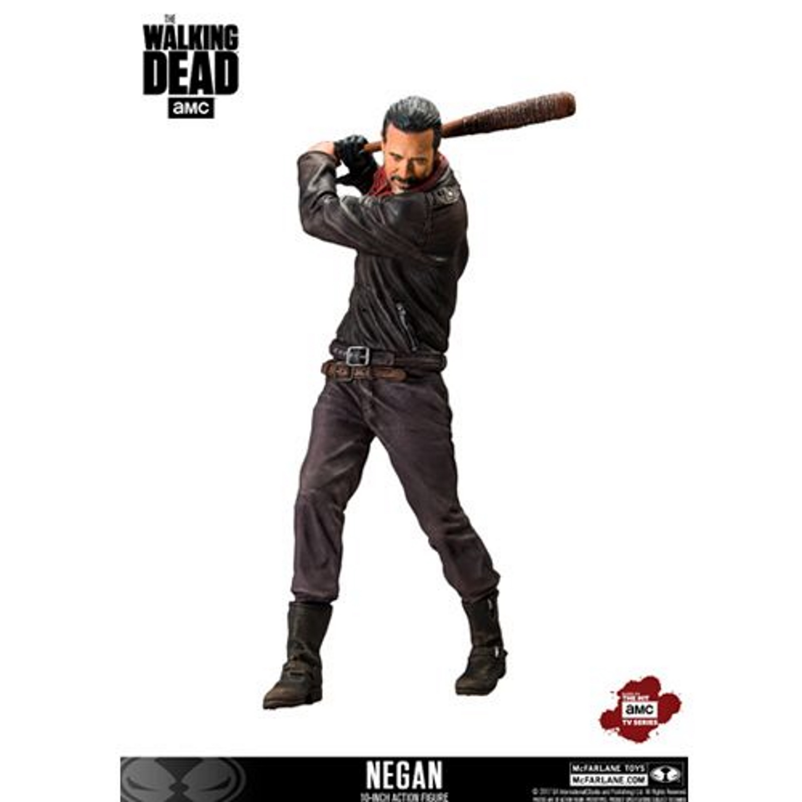 THE WALKING DEAD (TV): DELUXE BOX - NEGAN DELUXE McFARLANE FIGURE