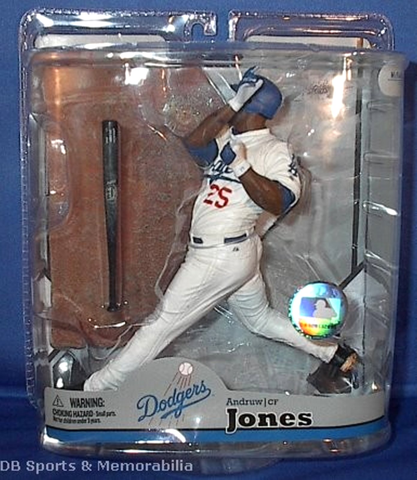 Andruw Jones MLB Series 22 McFarlane figure Los Angeles Dodgers