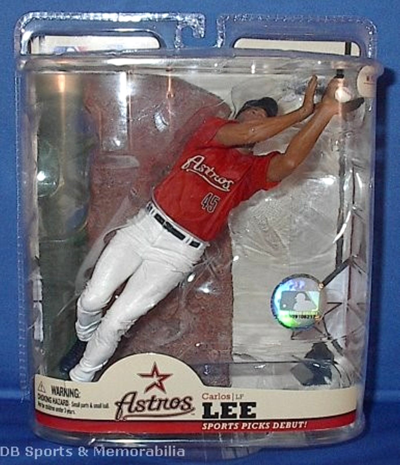 Carlos Lee MLB Series 22 McFarlane DEBUT figure Houston Astros