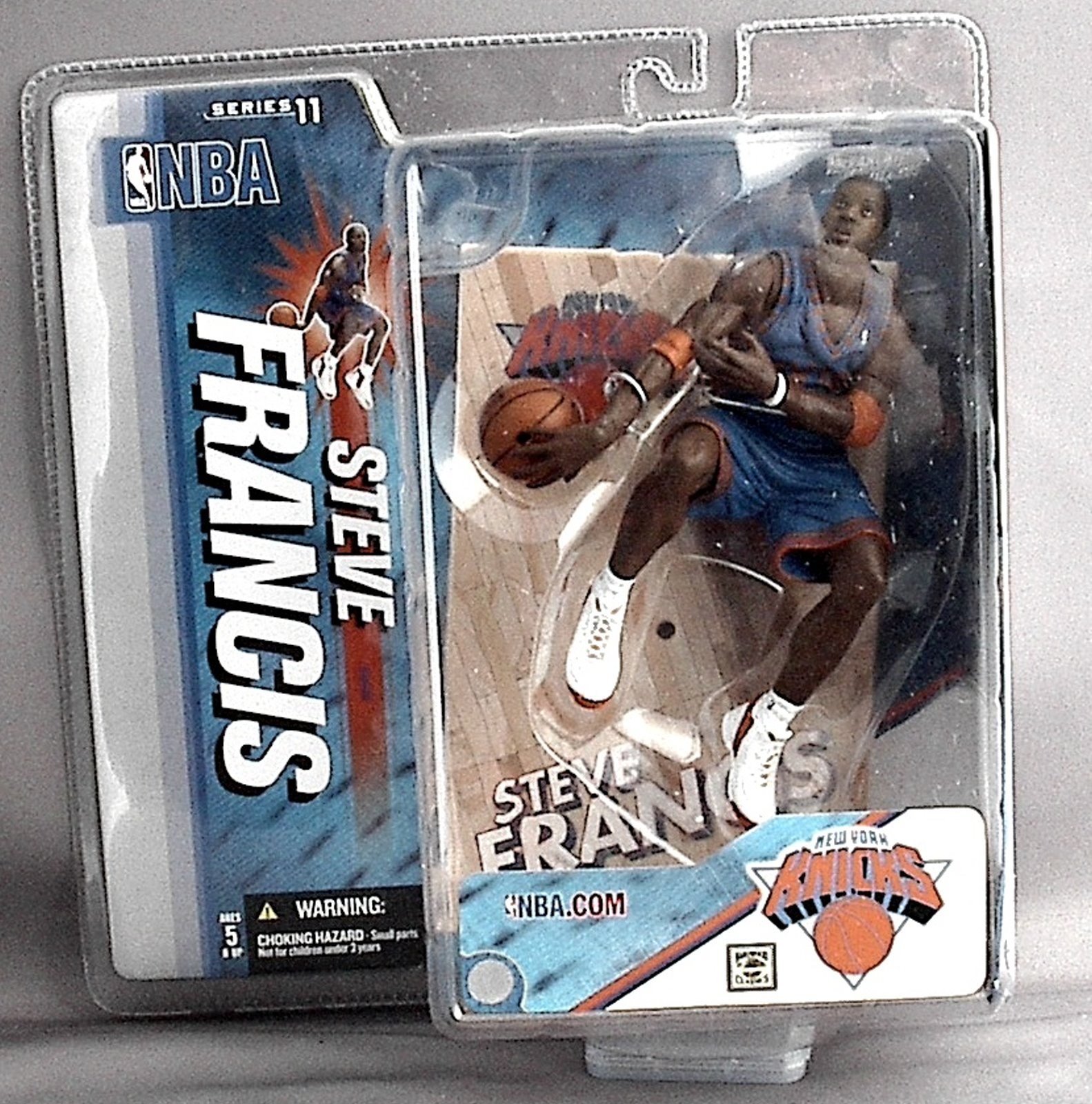 Steve Francis  NBA Series 11 McFarlane figure CHASE New York Knicks