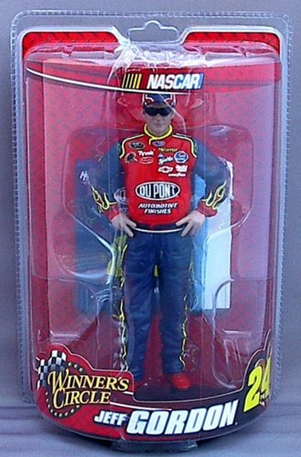 Jeff Gordon #24 Dupont Winners Circle Figure