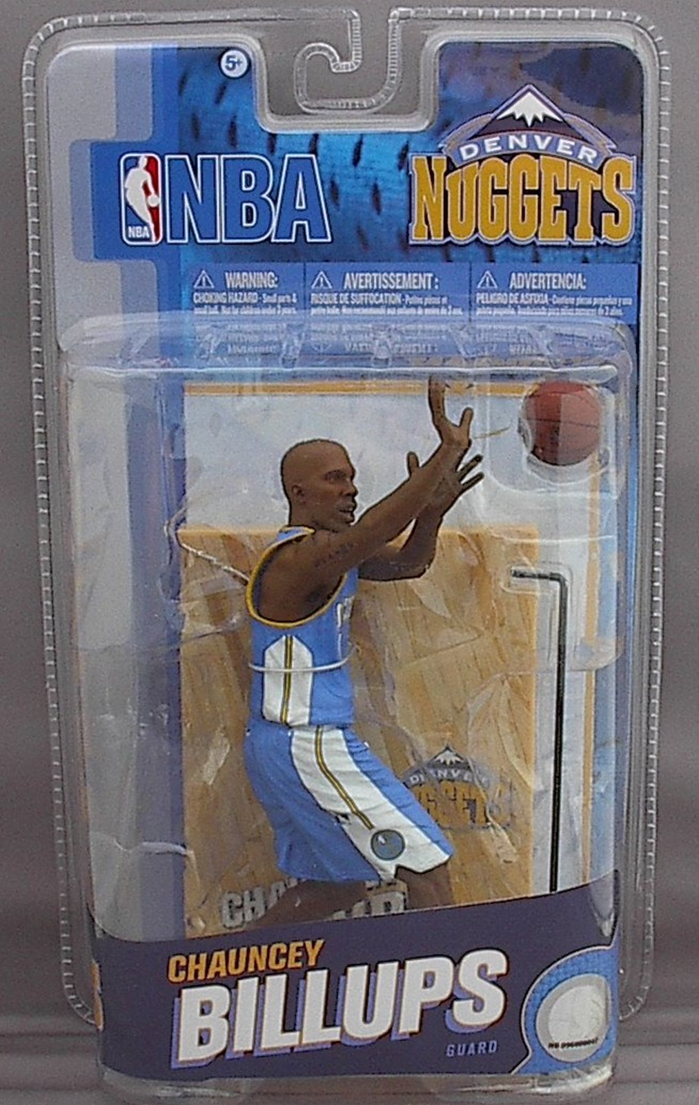 Chauncey Billups NBA Series 18 McFarlane figure Denver Nuggets