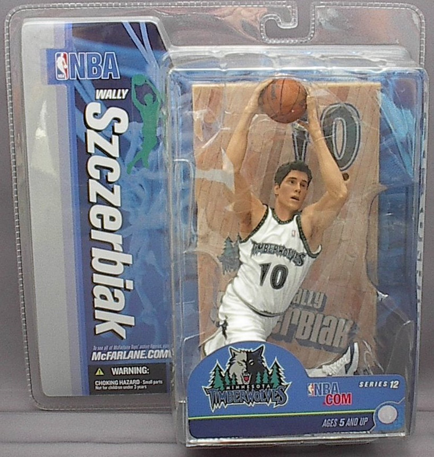 Wally Szczerbiak NBA Series 12 McFarlane figure CHASE Minnesota Timberwolves