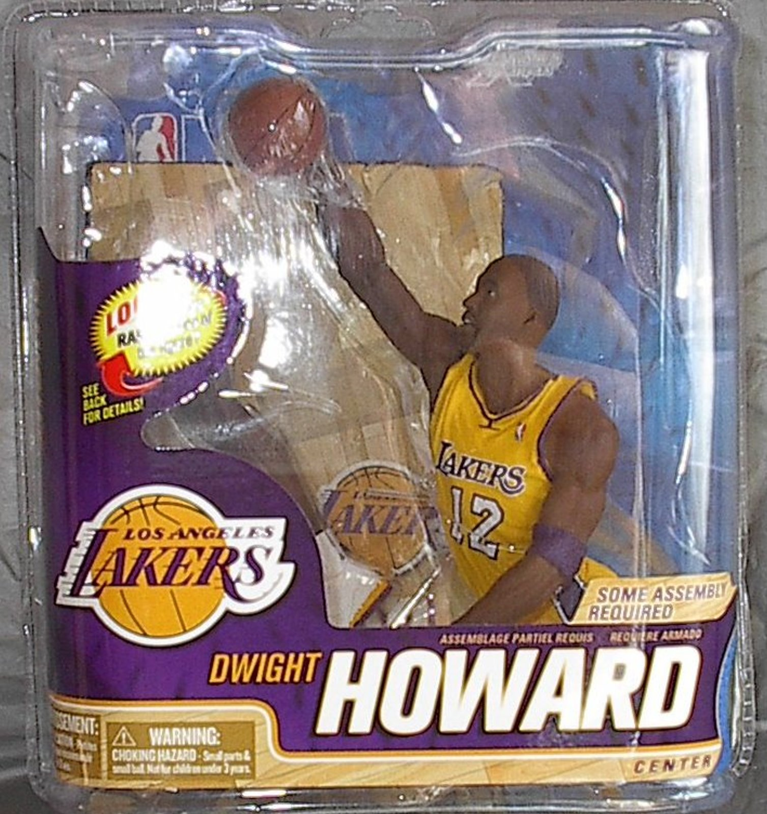 Dwight Howard NBA Series 22 McFarlane figure Los Angeles Lakers