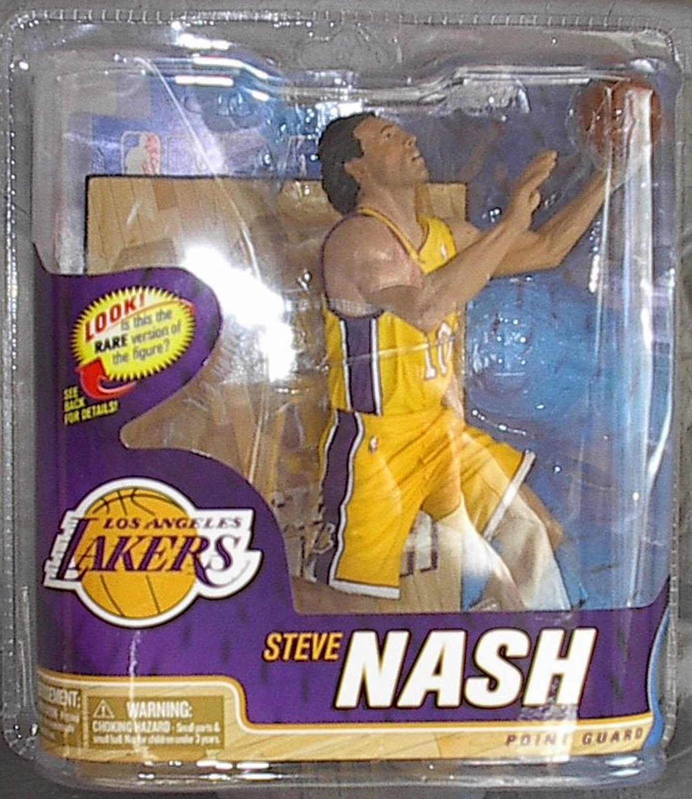 Steve Nash NBA Series 22 McFarlane figure Los Angeles Lakers