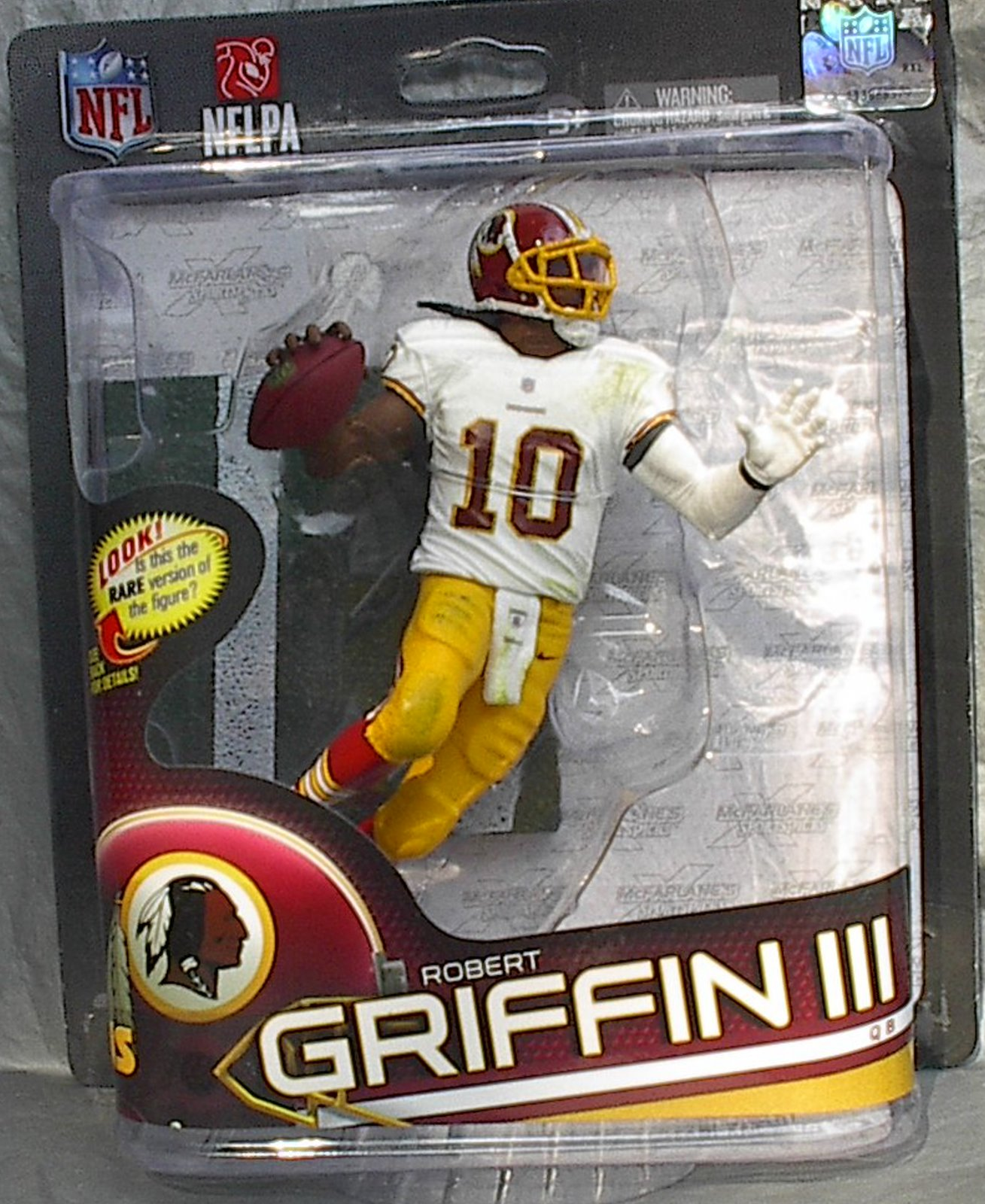 Robert Griffin III NFL Series 32 McFarlane figure Washington Redskins