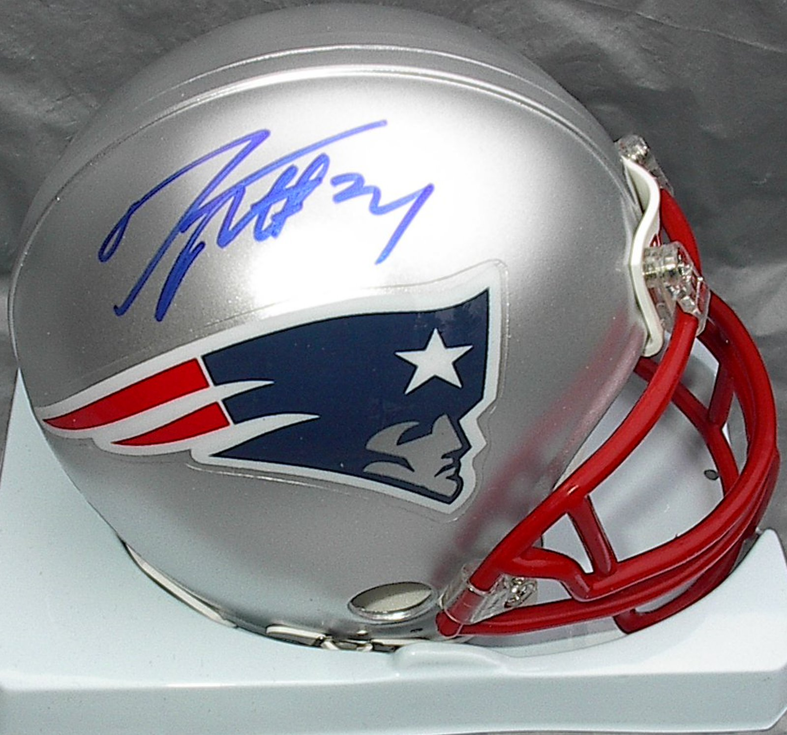 Darrelle Revis AU New England Patriots mini-helmet