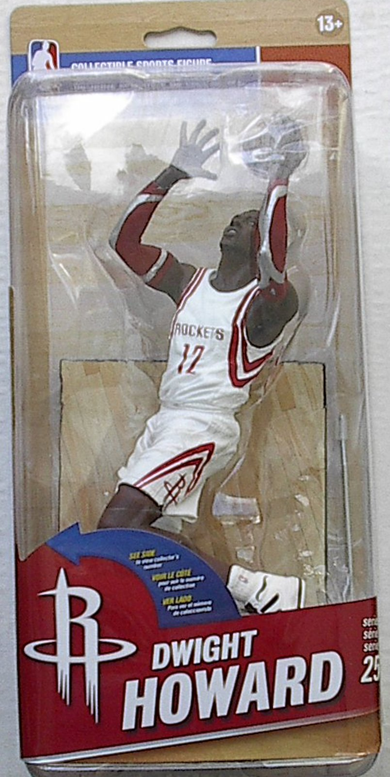 Dwight Howard NBA Series 25 McFarlane figure Houston Rockets