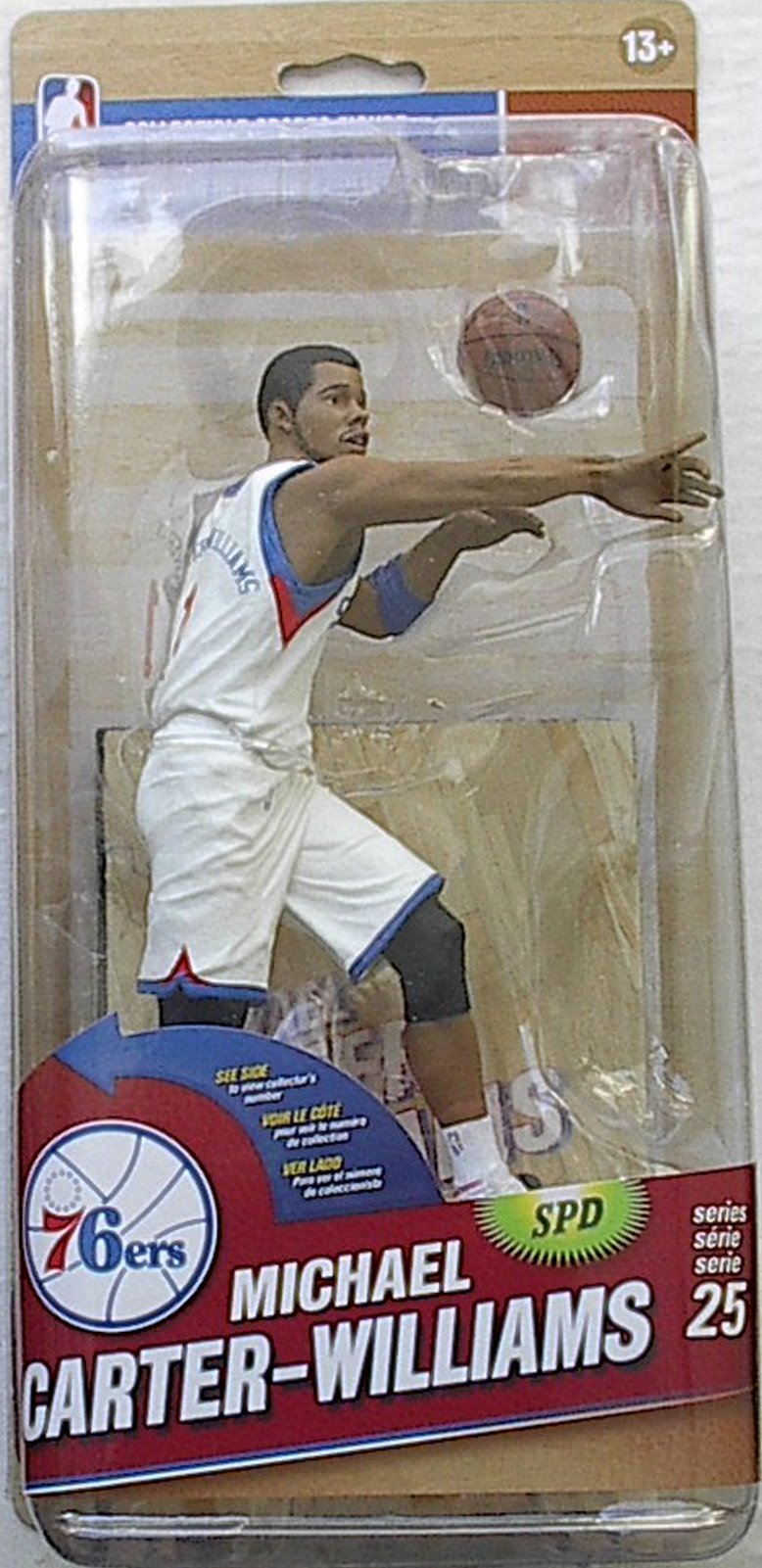 Michael Carter-Williams NBA Series 25 McFarlane Debut figure Philadelphia 76ers