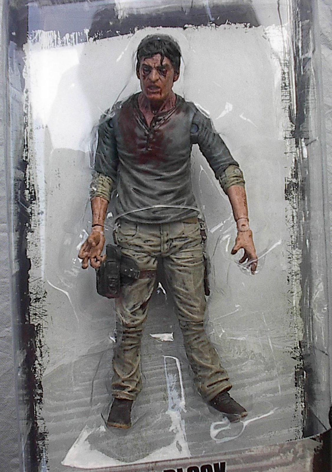 Cell Block Flu Walker TV Series 7.5 The Walking Dead McFarlane figure