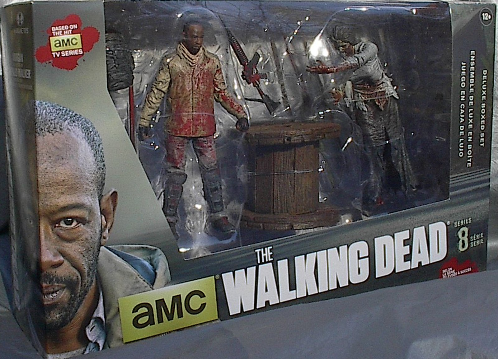Morgan with Impaled WalkerTV Series The Walking Dead McFarlane Deluxe Box Set