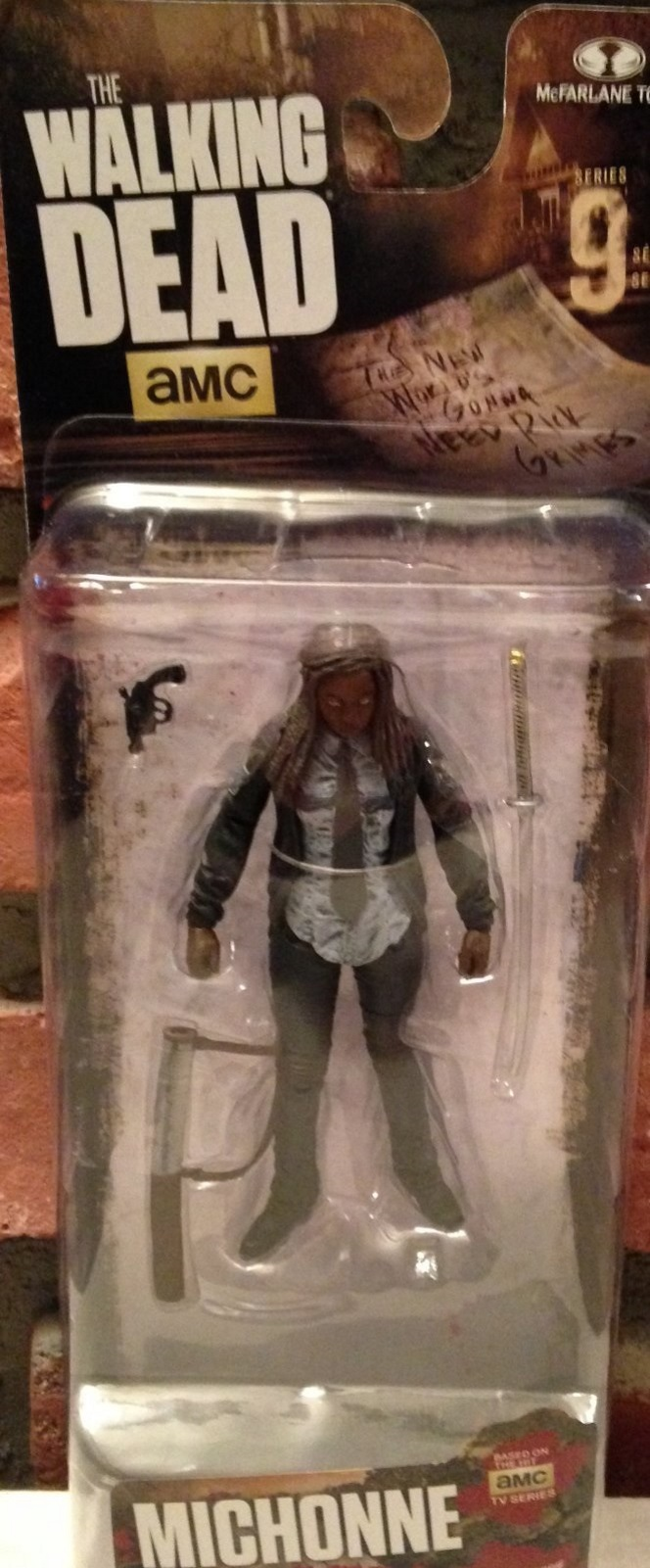Michonne TV Series 9 The Walking Dead McFarlane figure