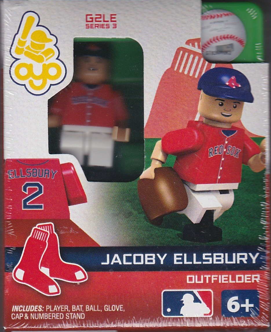 Jacoby Ellsbury OYO Baseball figure Series 3 G2LE Boston Red Sox