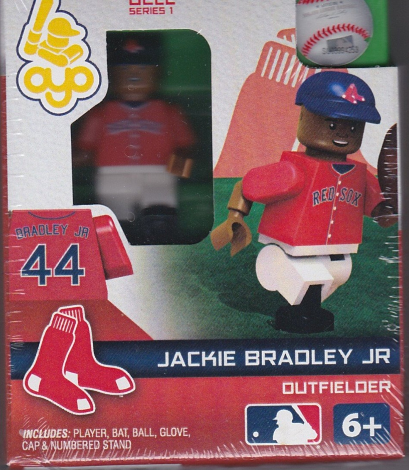 Jackie Bradley Jr. OYO Baseball figure Series 1 G2LE Boston Red Sox