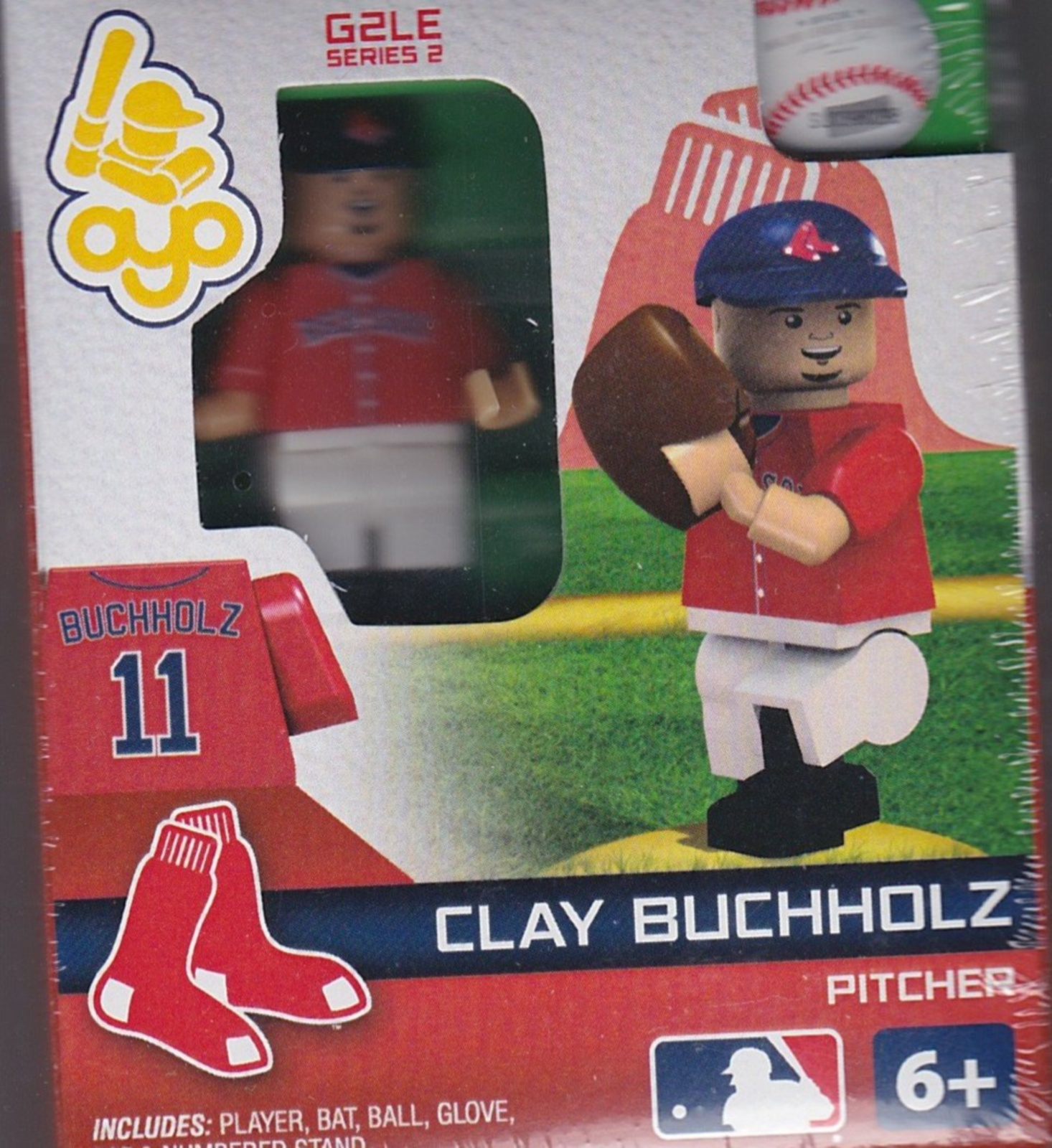 Clay Buchholz OYO Baseball figure Series 2 G2LE Boston Red Sox