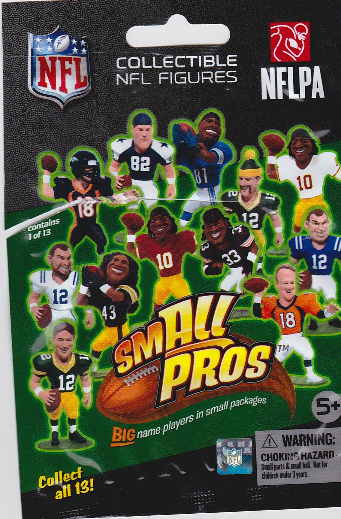 smALL Pros Blind Pack NFL Series 1 McFarlane mini-figures