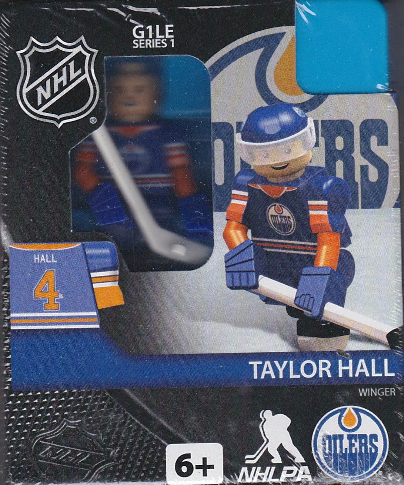 Taylor Hall Edmonton Oilers NHL OYO Hockey G1LE Series 1