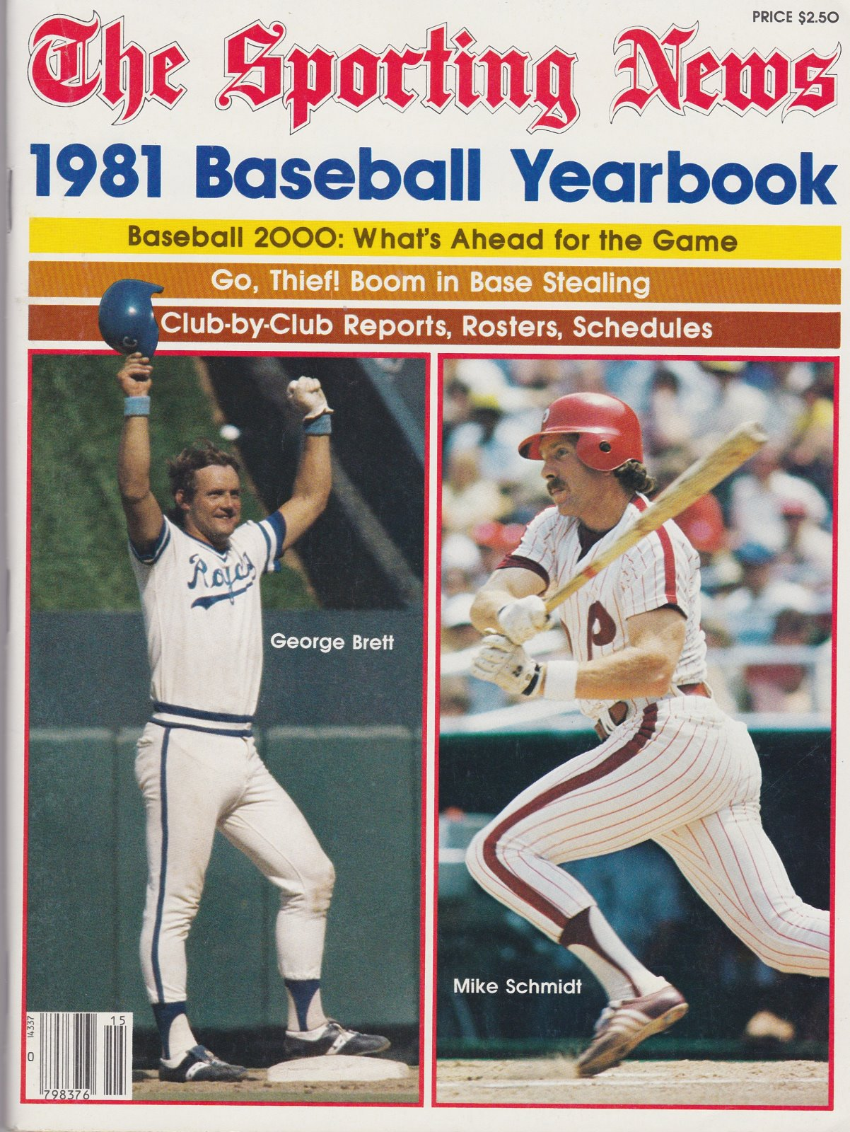 The Sporting News, 1981 Baseball Yearbook