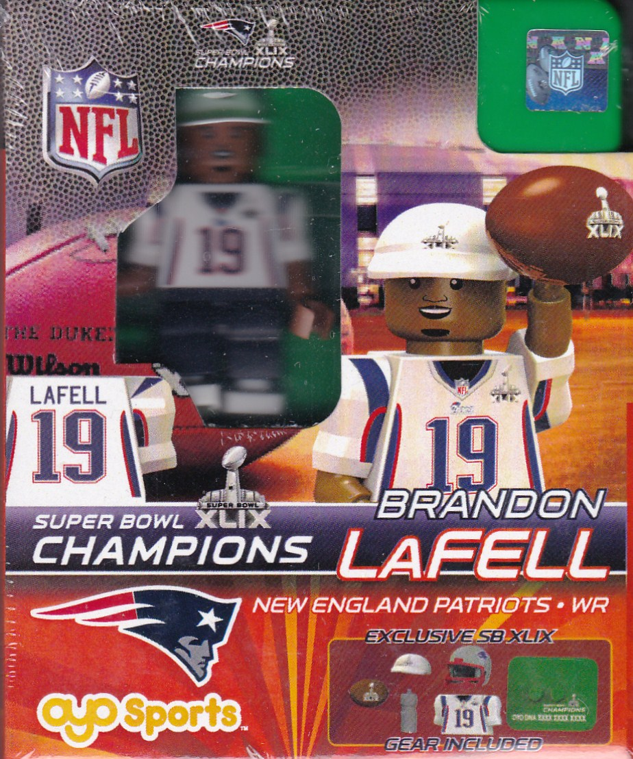 Brandon LaFell New England Patriots Super Bowl 49 Champions NFL OYO G2LE Series 3