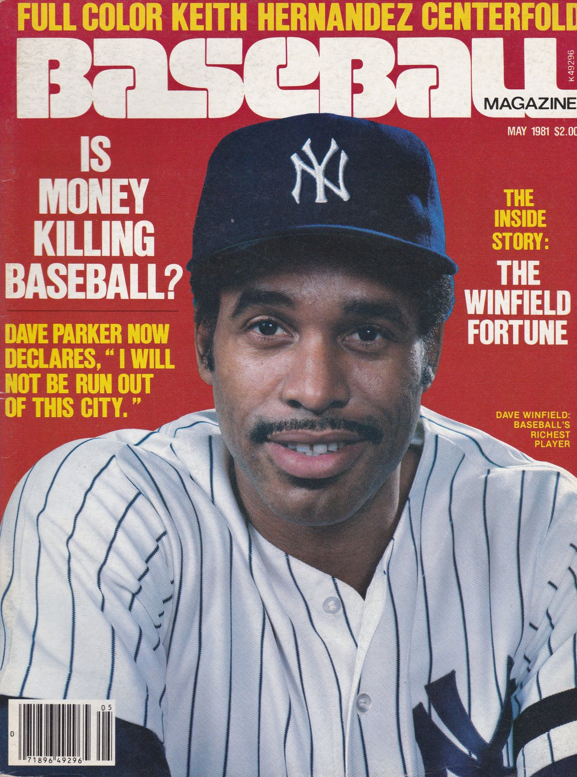 Baseball Magazine May 1981 Vol 5 No 2