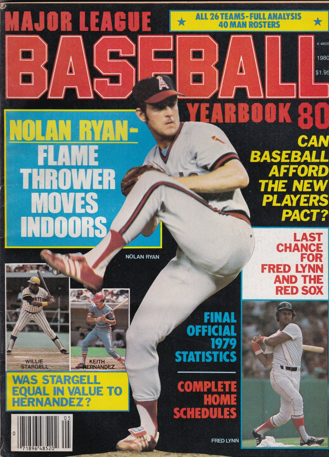 Major League Baseball Yearbook 1980
