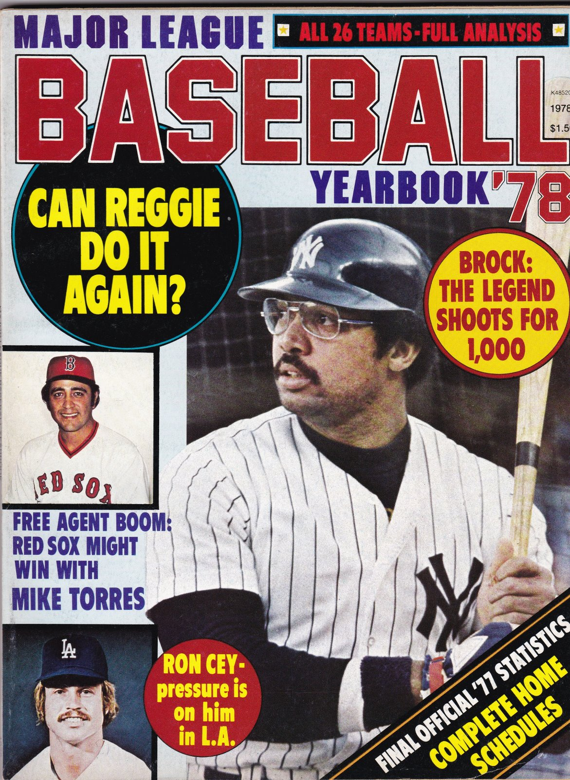 Major League Baseball Yearbook 1978