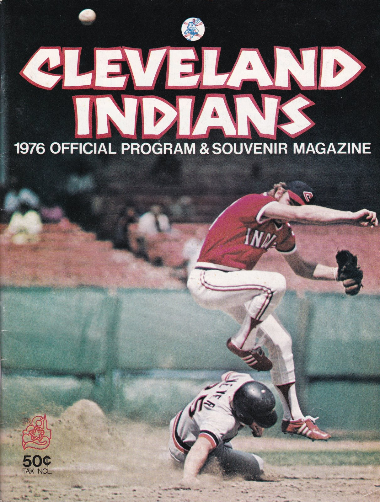 Cleveland Indians 1976 Official Program & Souvenir Magazine
