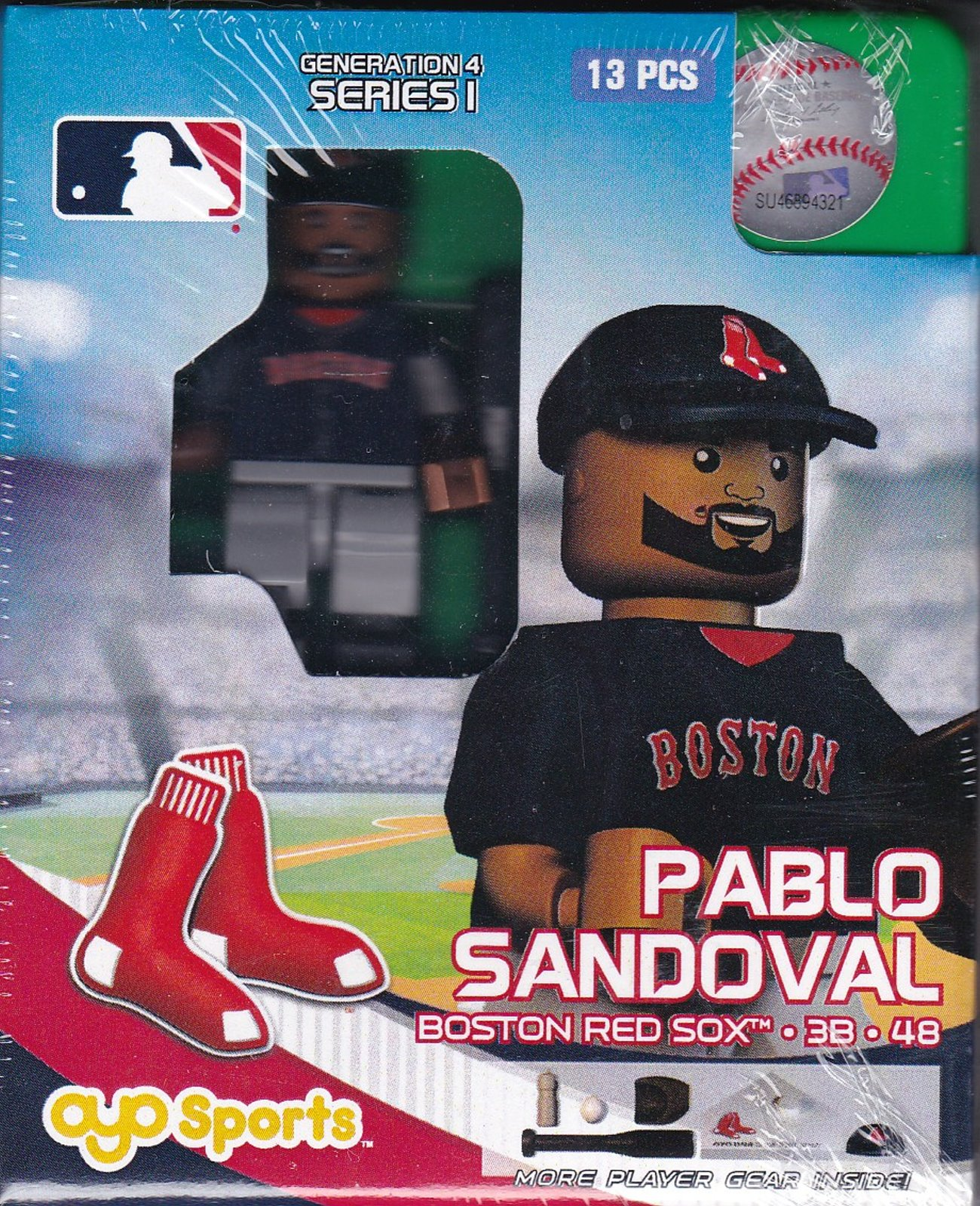 Pablo Sandoval OYO Baseball figure Generation 4 Series 1 Boston Red Sox