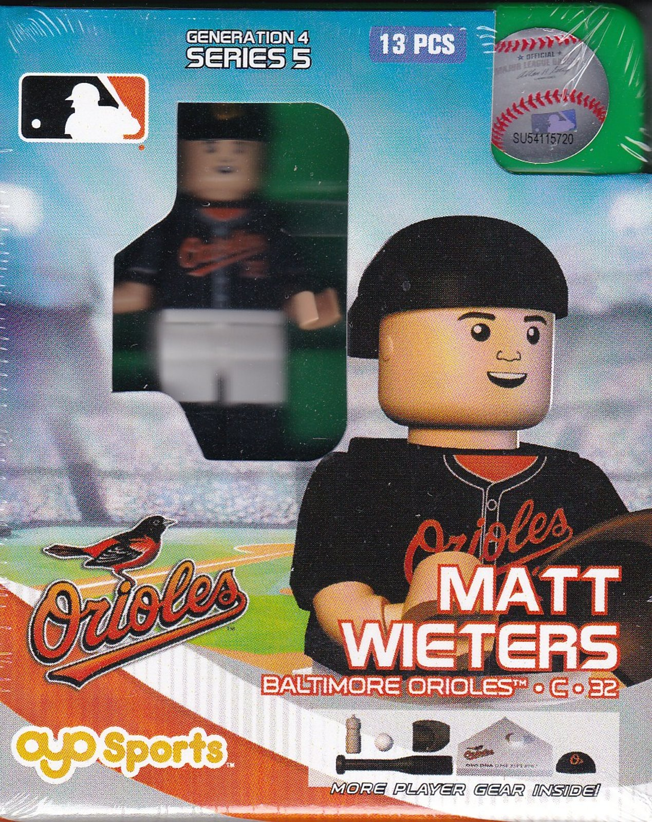Matt Wieters OYO Baseball figure Generation 4 Series 5 Baltimore Orioles