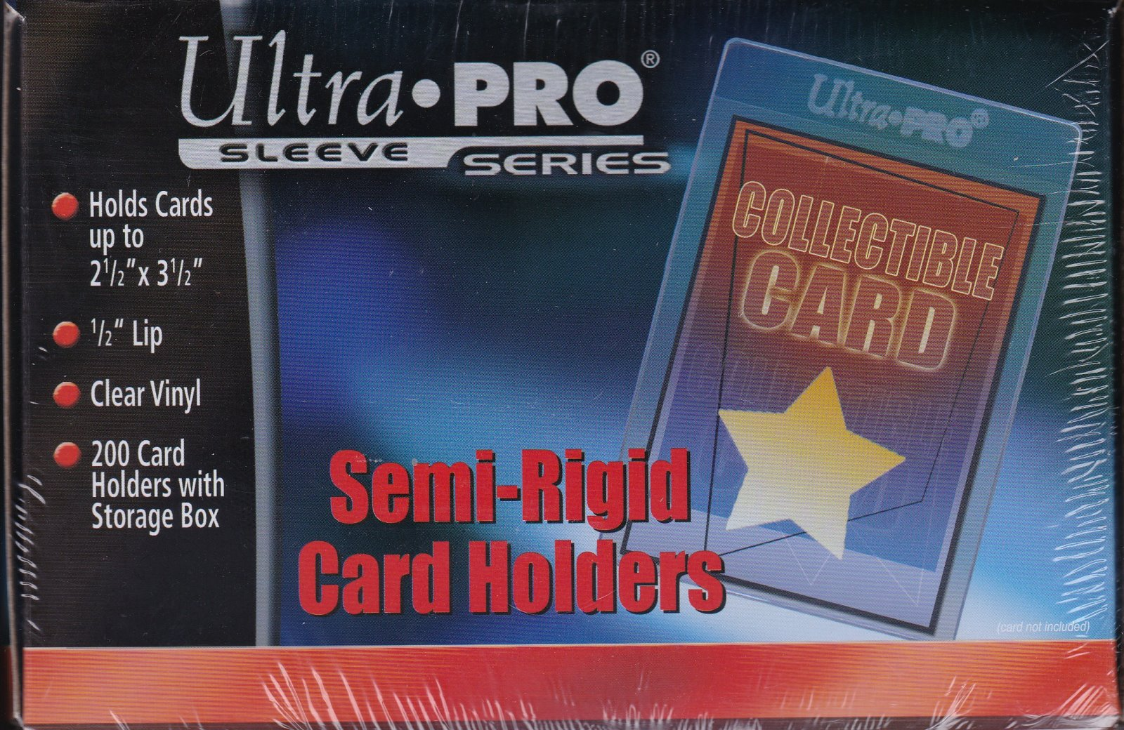 Ultra Pro Semi-Rigid Card Holders