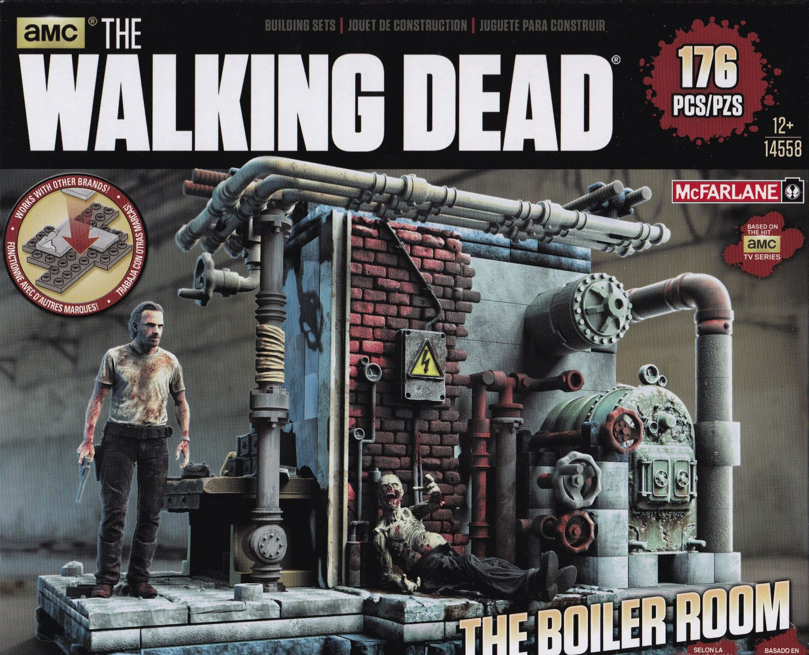 THE WALKING DEAD (TV) BUILDING SETS - The Prison Boiler Room