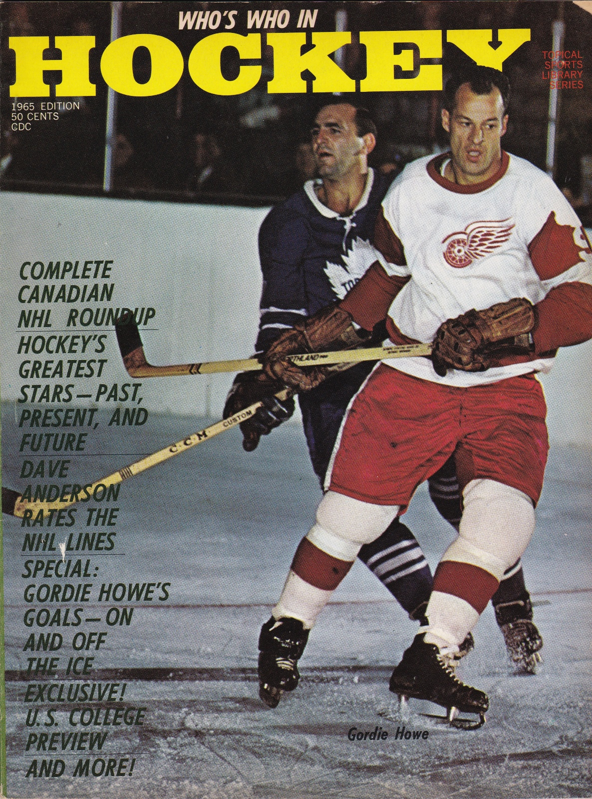 Who's Who in Hockey Magazine Winter, 1965