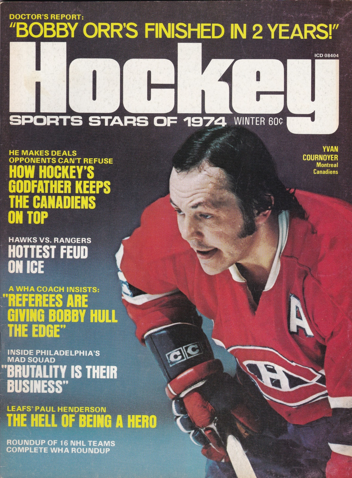 Hockey Magazine Vol 7 Number 1 Winter, 1973