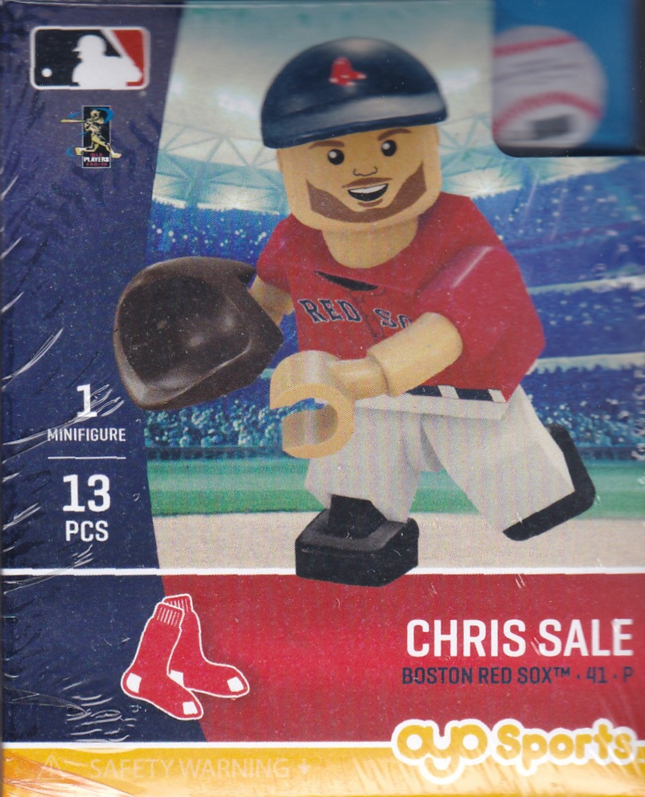 Chris Sale Pitcher OYO Baseball figure Generation 5 Series 1 Boston Red Sox