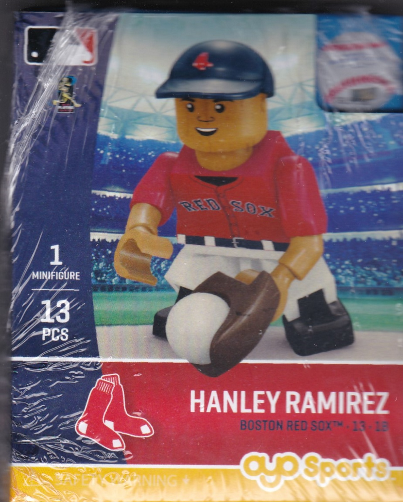 Hanley Ramirez 1B OYO Baseball figure Generation 5 Series 2 Boston Red Sox