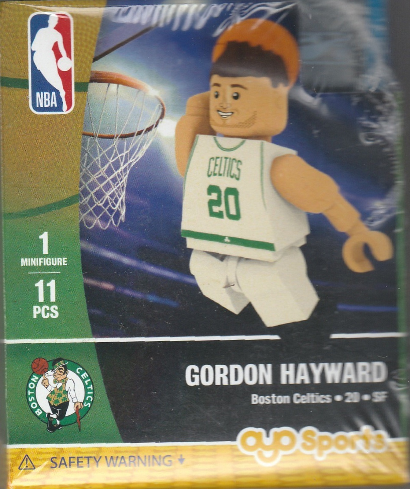 Gordon Hayward OYO Basketball figure Generation 1 Series 1 Boston Celtics