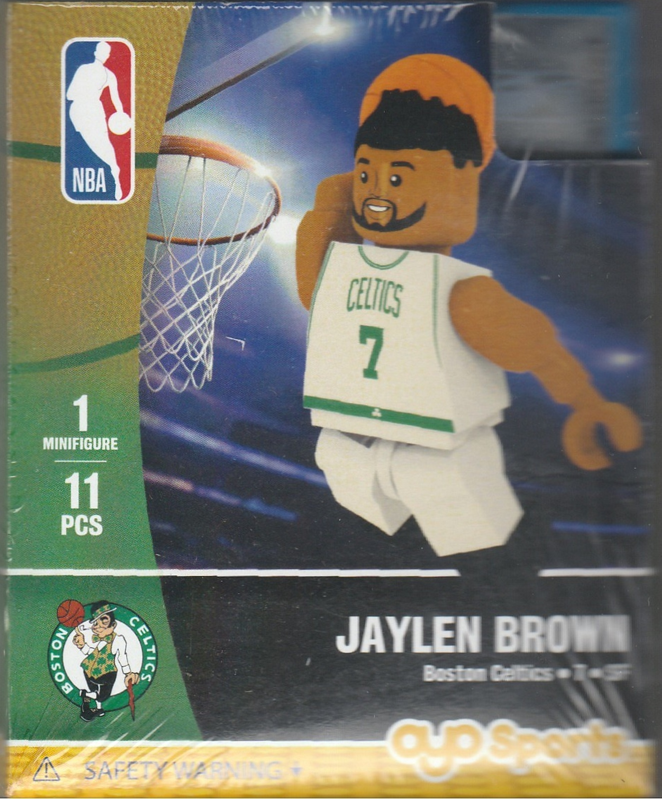 Jaylen Brown OYO Basketball figure Generation 1 Series 1 Boston Celtics