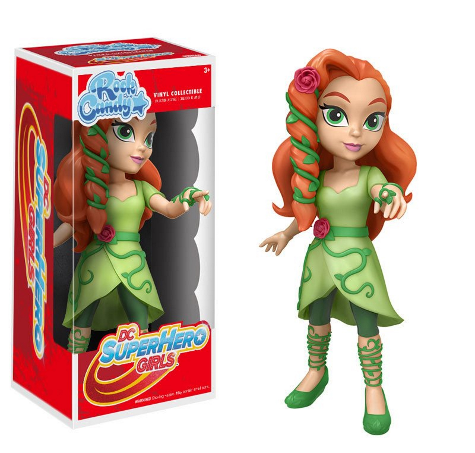Rock Candy Poison Ivy Funko Vinyl Collectible Figure DC Superhero Girls