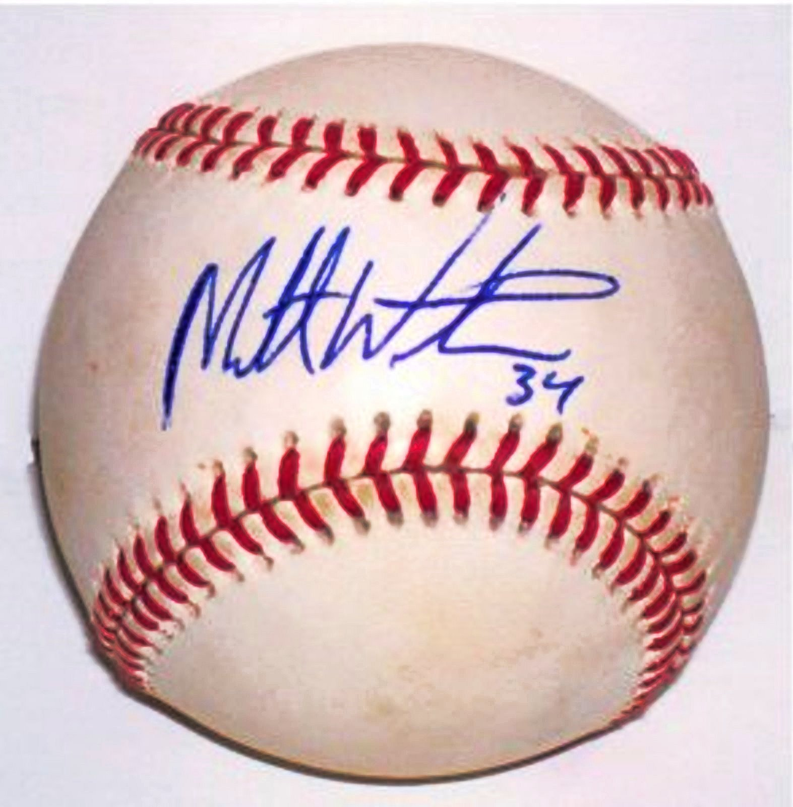 Matt Wieters Autographed Rawlings MLB Baseball