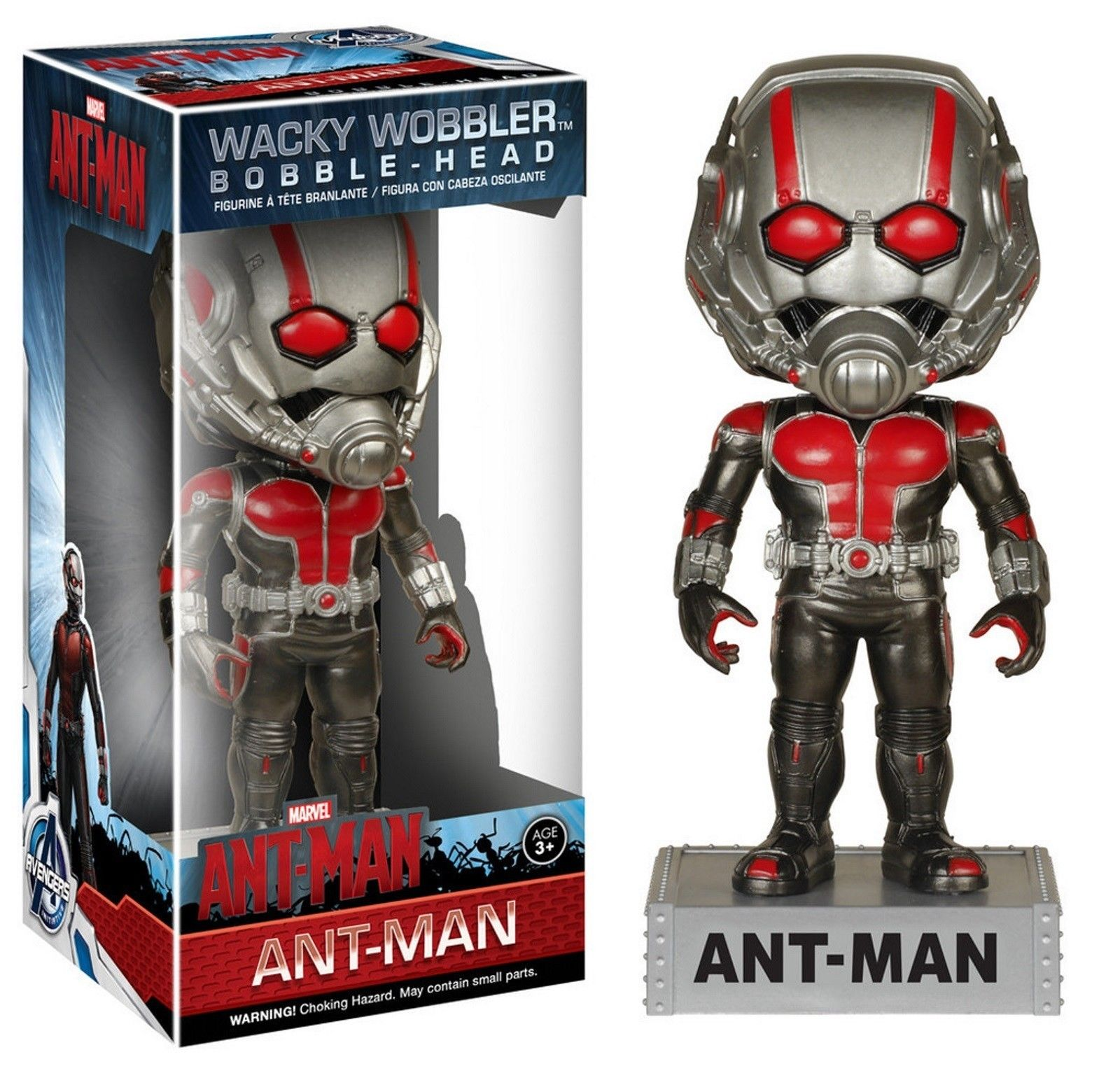 Marvel Avengers Initiative Ant-Man Wacky Wobbler Bobble-head