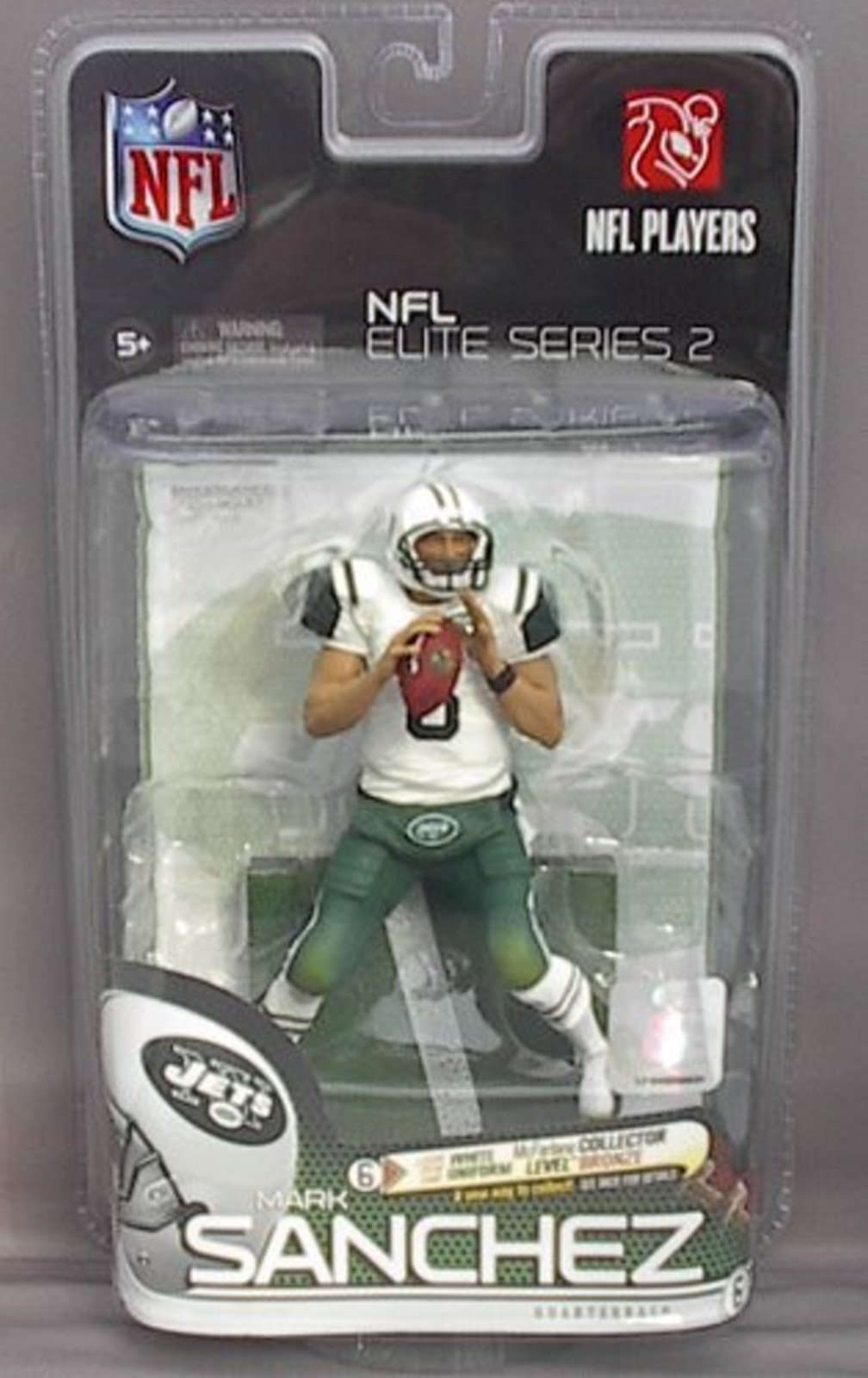Mark Sanchez NFL Elite Series 2 McFarlane figure New York Jets