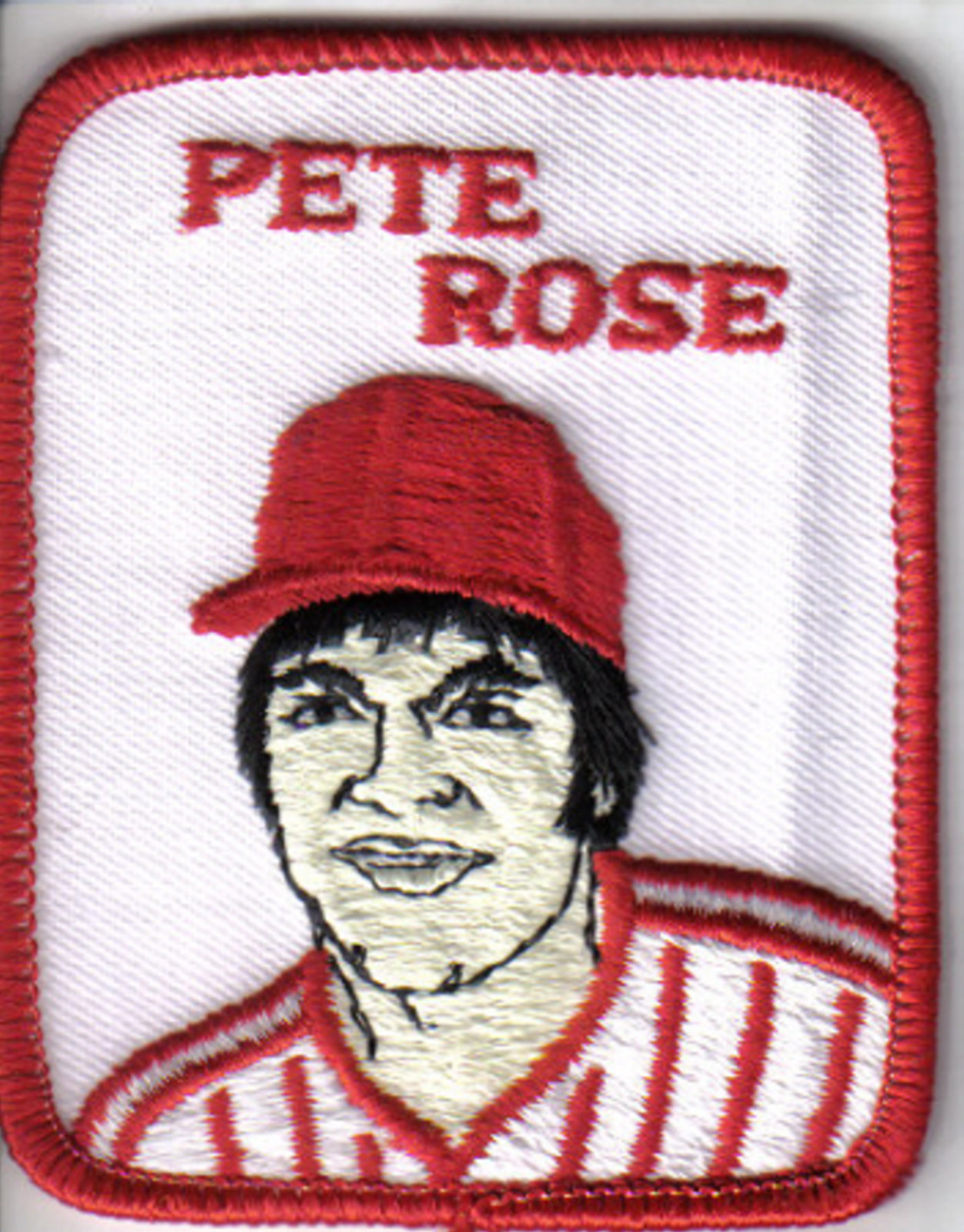 Pete Rose MLB patch 1978