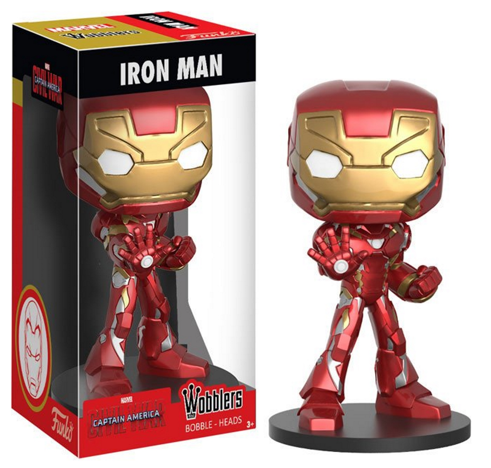 Iron Man Marvel Captain America Civil War Wacky Wobbler Bobble-head