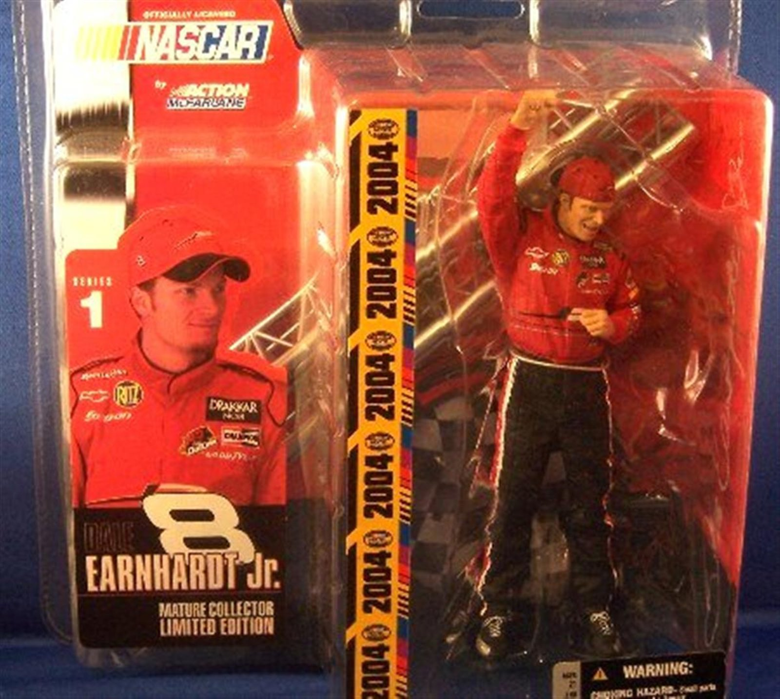 Dale Earnhardt Jr Series 1 McFarlane Mature Collectors Limited Edition