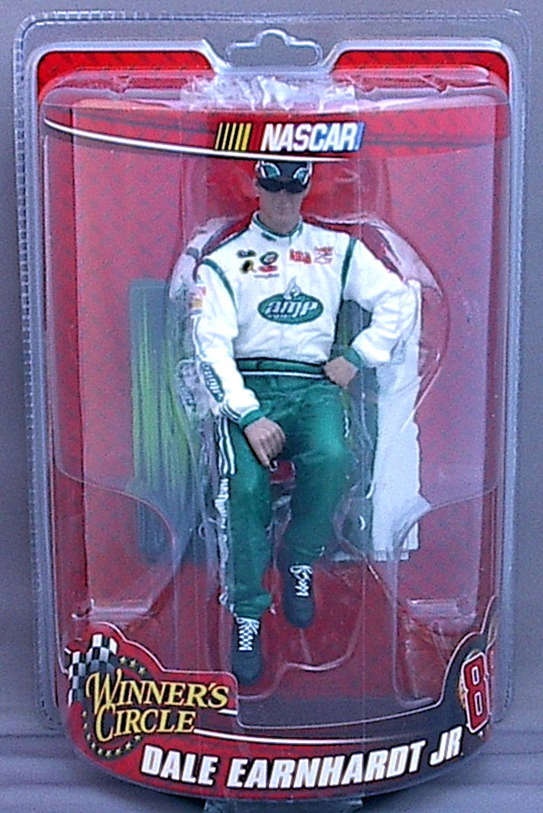 Dale Earnhardt Jr #88 AMP Energy Winners Circle Figure