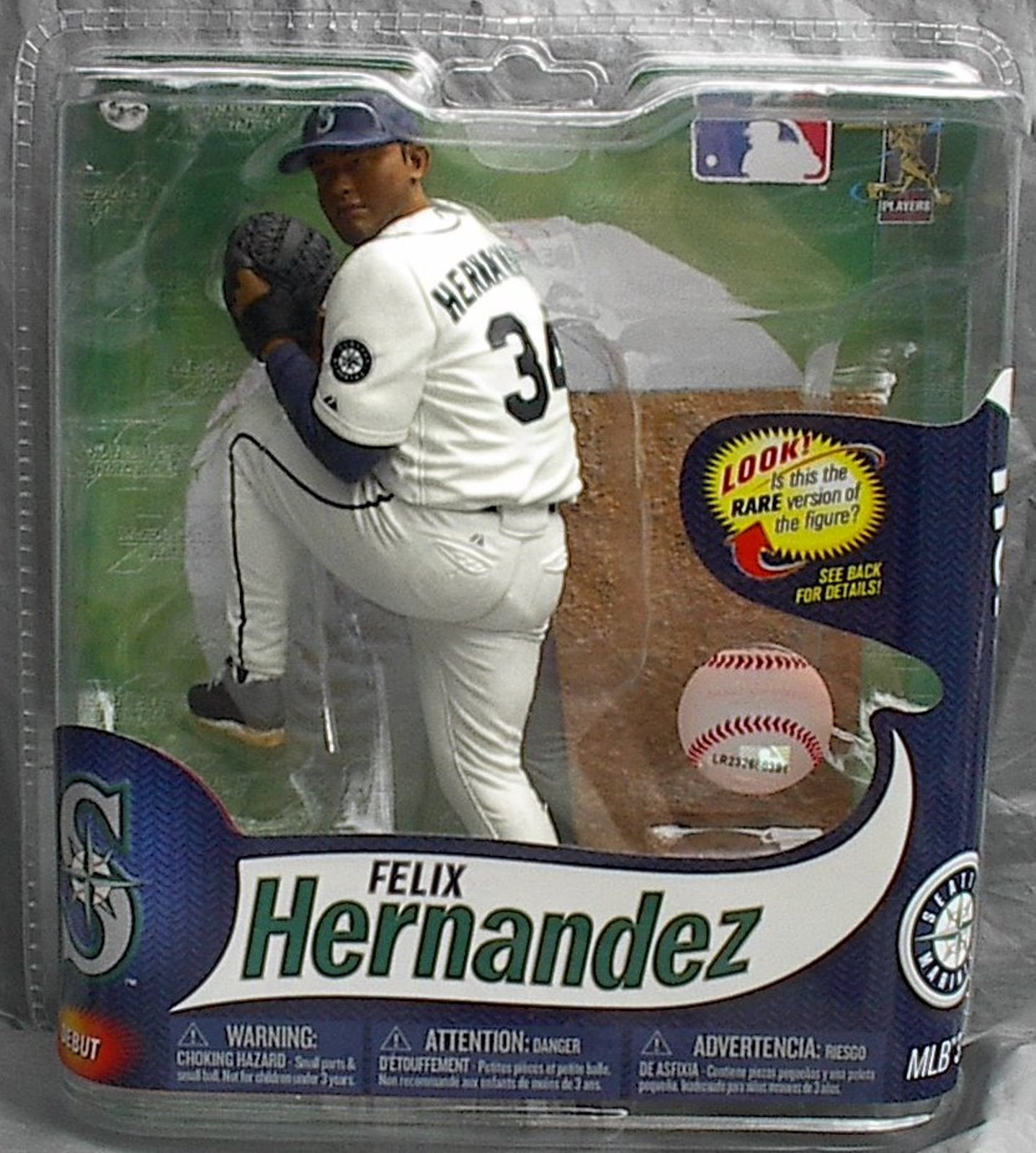 Felix Hernandez MLB Series 31 McFarlane DEBUT figure Seattle Mariners