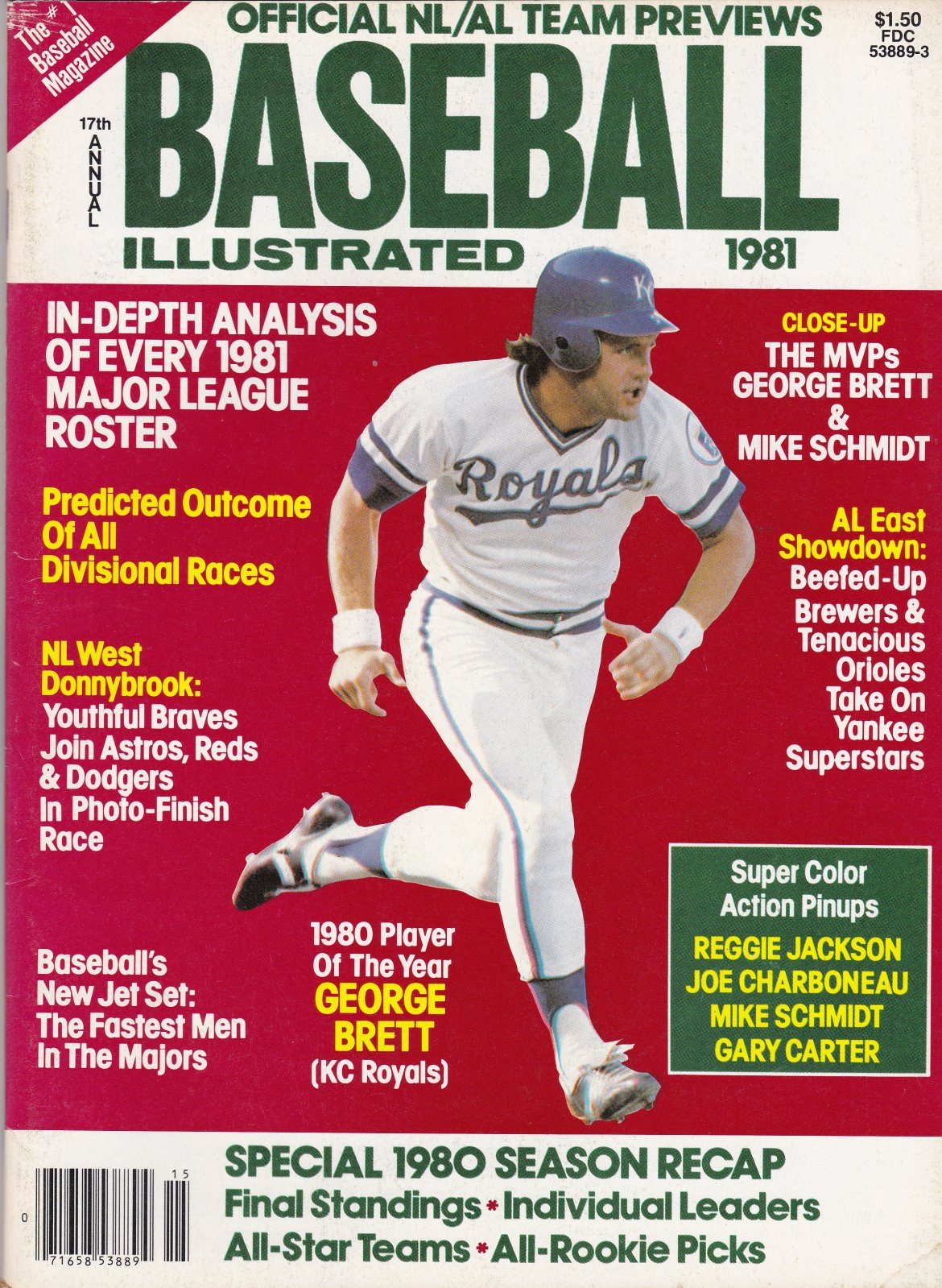 1981 17th Annual Baseball Illustrated