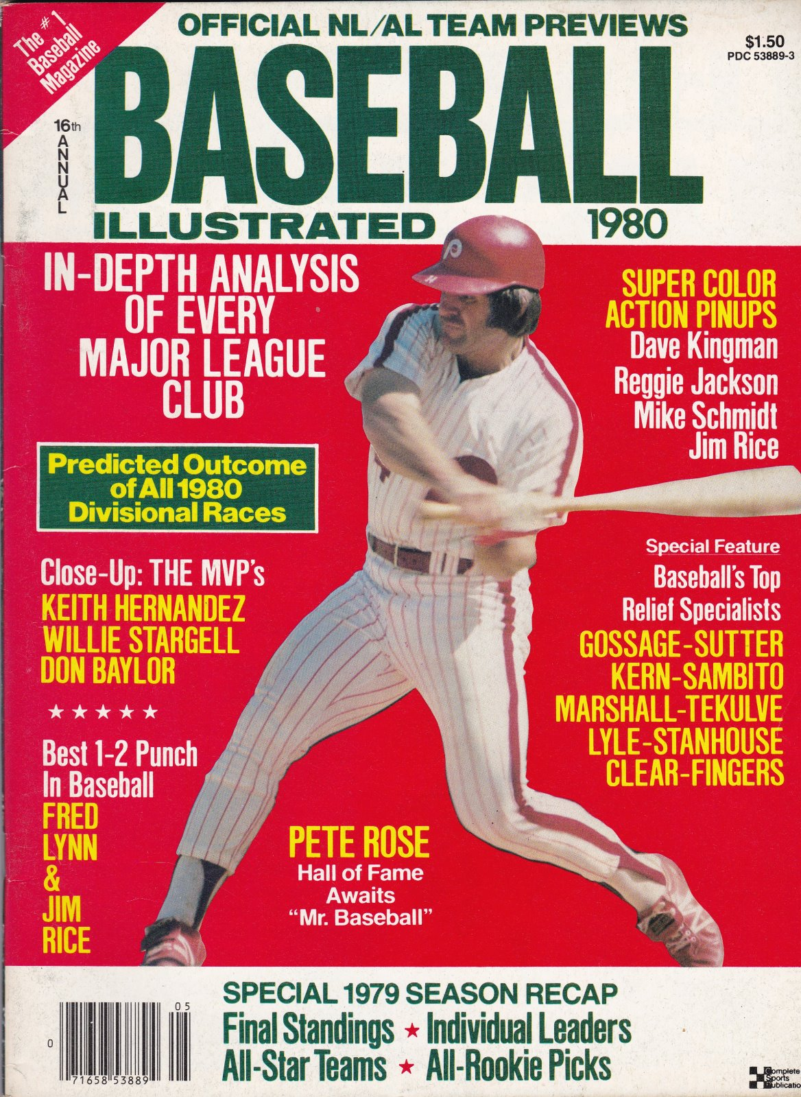 1980 16th Annual Baseball Illustrated